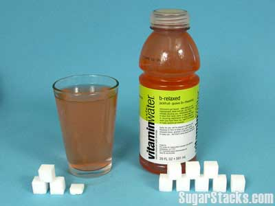 Isn't Vitamin water healthy for you?  How much is enough?