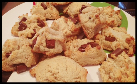 I tried my first Paleo cookie recipe this week and loved it.  See the recipe below.