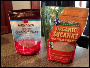 "Here are the brown ""sugar"" options we use at our house.  Both are great."