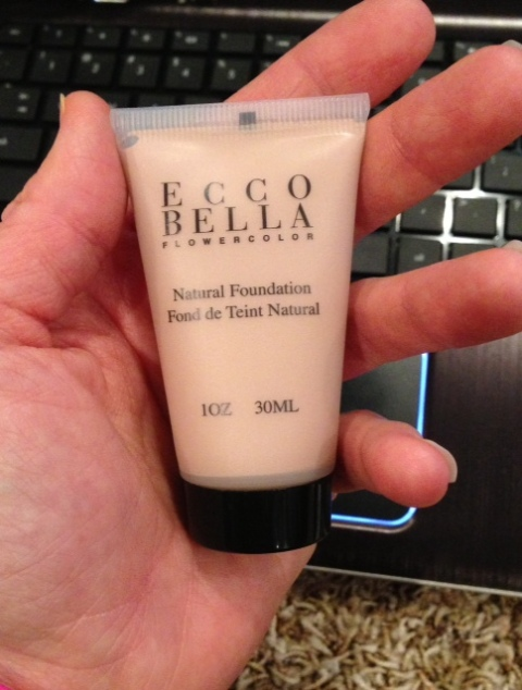 I've been using some Ecco Bella (color: Natural) for some stronger coverage - to go with my bare minerals powder foundation.  So far - no major break outs.  I have some of their lipsticks too.