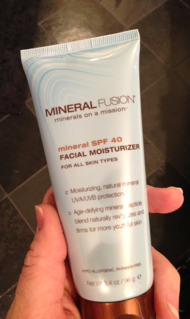 "Mineral Fusion is another gluten-free, cruelty-free brand I had been wanting to try.  I got this at Natures Grocer, but it's available online as well.  A ""safe"" SPF for spring!"