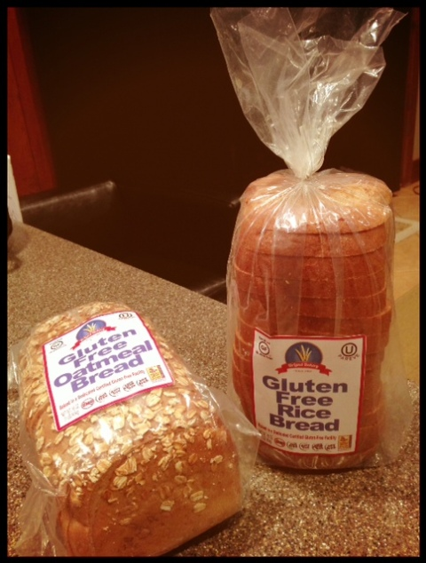 Check out this new bread from HyVee!  Gluten-free, soy free, GMO free, corn syrup free and only 90 calories a slice!! My kids are so excited to try it tomorrow!  Let me know if you had this before!!  (They make ccokies too from chia seed flour with the same standards as the bread!)  Hurray!! :)