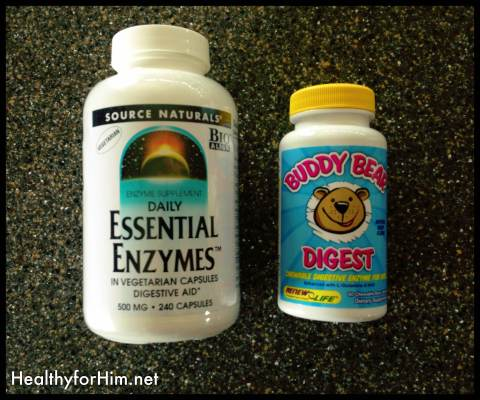 "The brand on the right we get from Vitacost.com  and we get the ""Buddy Bear"" enzymes for the kids from Amazon.com."